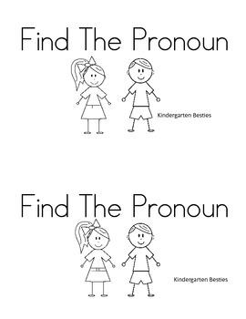 Find The Pronoun