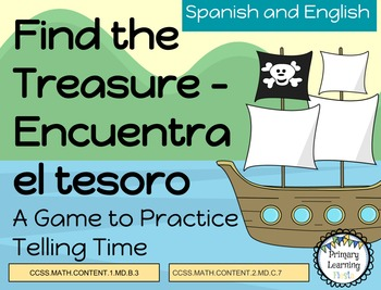 Find The Treasure - A Telling Time Game