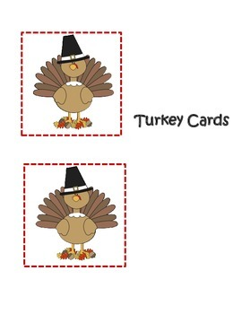 Find The Turkey Sight Word Recognition Game