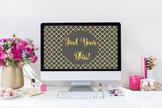 """Find Your Bliss!"" Desktop Wallpaper"