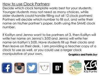 Find Your Clock Partner