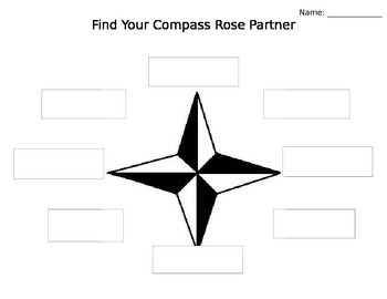 Find Your Compass Rose Partner