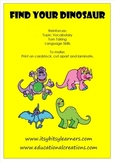 Dinosaur PreK Game