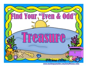 "Find Your ""Even and Odd"" Treasure"