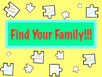 Fact Family Multiplication and Division