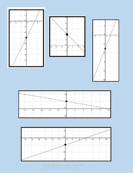 Linear Functions & Graphing Game