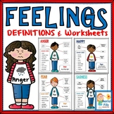 FEELINGS DEFINITIONS CARDS