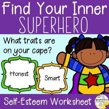 Find Your Inner Superhero! (Self Esteem)