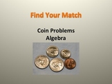 Algebra Word Problems Activity