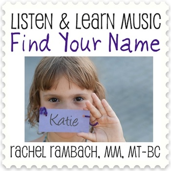 Find Your Name: Educational Song (MP3 + Instrumental Track + Lyrics/Chords)