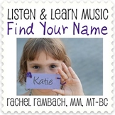 Find Your Name: Educational Song (MP3 + Instrumental Track