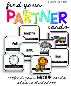 Find Your Partner Cards