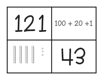 Find Your Partner- Place Value Game