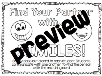 Find Your Partner With Similes! (Similes Match)