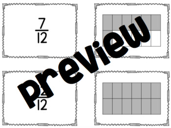 Find Your Partner with Fractions (Fraction Sort)