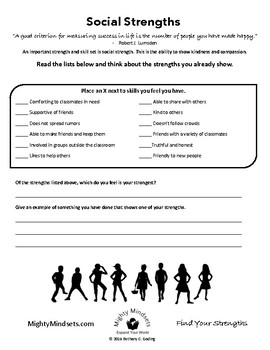 Find Your Strengths - Mighty Mindsets: Growth Mindset Kit