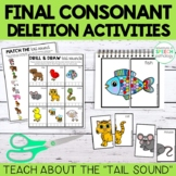 Final Consonant Deletion Tail Sound Packet