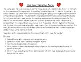 """Valentine's Day """"Find Your Valentine"""" Composer Game"""