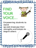 Find Your Voice Leadership Habits Lesson