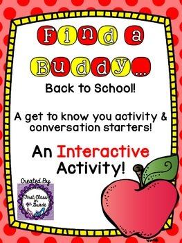 Find a Buddy (Back to School)