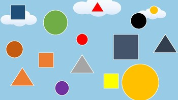 Find a Circle PPT game for toddlers and pre-K children