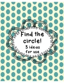 Find a Circle Relay Race (perfect for Pi Day)