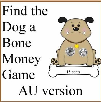 Find a Dog a Bone Australian Money Game