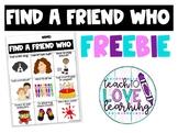 Find a Friend....