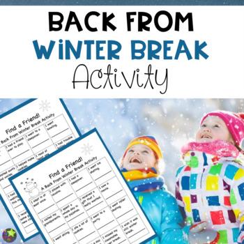 Back to School from Winter Break