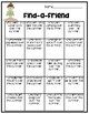 Find-a-Friend Back to School Activity