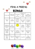 Find a Friend Bingo!!