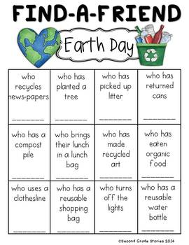 Earth Day ~ Find a Friend