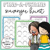 Find-a-Friend HUMAN Scavenger Hunt
