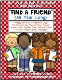 Find a Friend {Listening and Speaking Activities} All Year Long