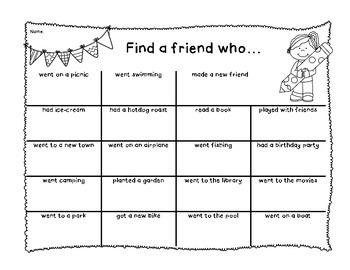 Find a Friend Who Freebie