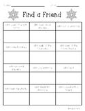 Find a Friend - Winter Edition