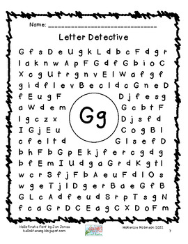 find a letter letter detective by robinson tpt find a letter letter detective by robinson tpt 335