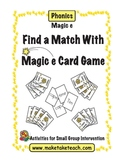 Find a Match with Magic e Card Game