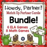 Find a Partner Card Games Bundle for ELA and Math