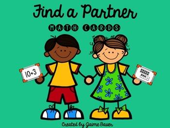 Find a Partner Math Cards