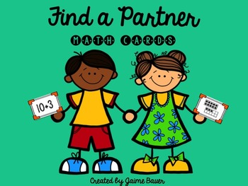 Find a Partner Math Cards