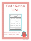 Find a Reader Ice Breaker