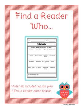 Find a Reader Ice Breaker