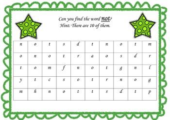 Find a Sightword Set 4