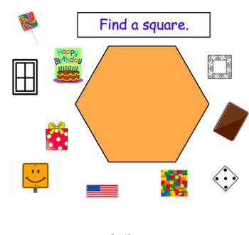 Find a Square White Board Activity
