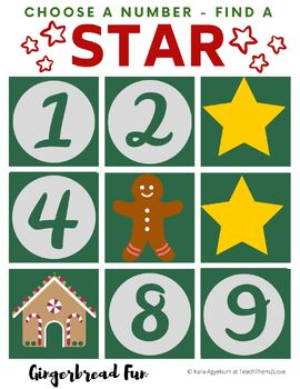 Find a Star Gingerbread Edition VIP Kid FAS Christmas holiday reward system