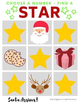 Find a Star Santa Edition VIP Kid FAS Christmas holiday reward system