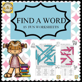 Find a Word - 15 Fun Worksheets