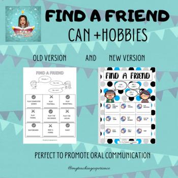 Find a friend - Can you...?