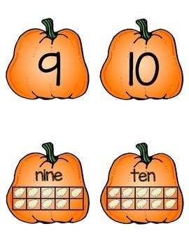 Pumpkin Number Match
